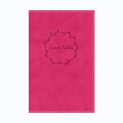 Biblia RVR Compacta Rosa (Tapa Suave)