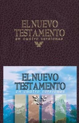Nuevo Testamento Cuatro Versiones TD (Tapa Dura)