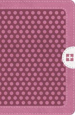 Biblia NVI Compacta con Cierre Rosa (Tapa Suave)