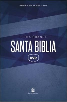 Biblia RVR Letra Grande TD Azul (Tapa Dura)