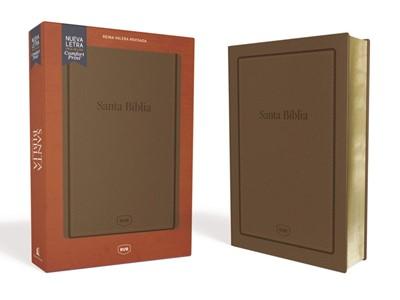 Biblia Reina Valera Letra Grande Tamaño Manual Marrón (Tapa Suave)