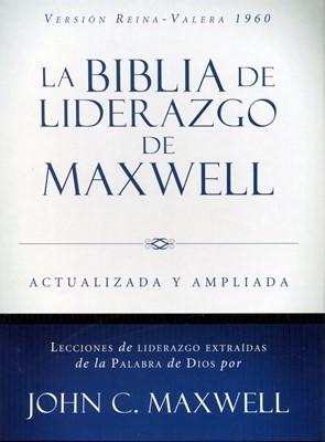 Biblia del Liderazgo Maxwell RVR 60 Piel Marron (Tapa Suave)