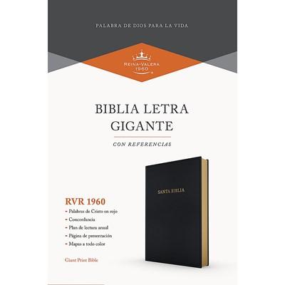 Biblia Letra Gigante Imitación Piel Negro (Tapa Suave)