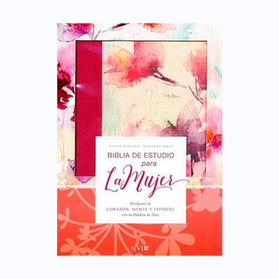 Biblia de Estudio Para la Mujer NVI Fucsia (Tapa Suave)