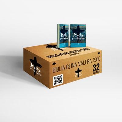 Caja de Biblia Jesús Para Todos (Tapa Rústica)