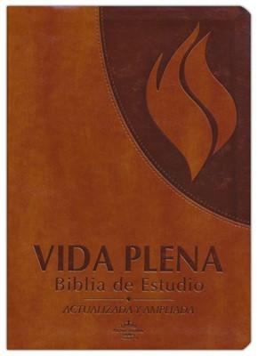 Biblia Vida Plena RVR60 Actualizada y Ampliada Marrón (Tapa Suave)