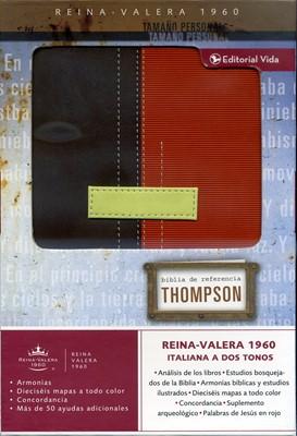 Biblia de Referencia Thompson Personal Dos Tonos  Marrón/Terracota (Piel Italiana a Dos Tonos) [Biblia]