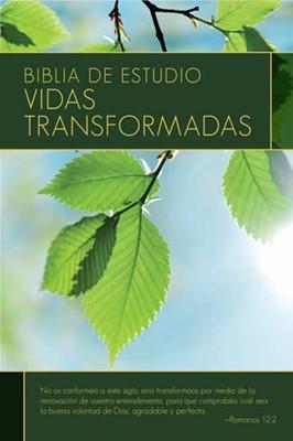 Biblia Estudio Vidas Transformadas (Tapa Dura) [Biblia]