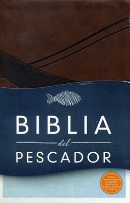 Biblia del Pescador Chocolate (Imitación Piel) [Biblia]