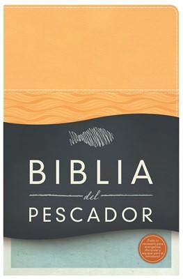 Biblia del Pescador Damasco (Imitación piel color Durazno) [Biblia]