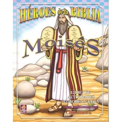 Héroes de la Biblia - Moises (Tapa Rústica)