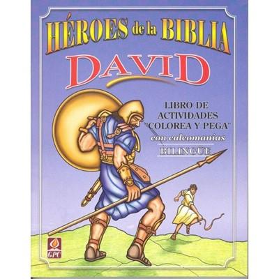 Héroes de la Biblia David (Tapa Rústica)