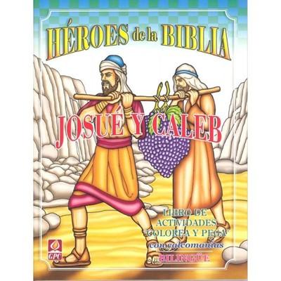 Héroe de la Biblia Josué y Caleb (Tapa Rústica)