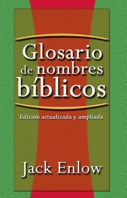 Glosario de Nombres Bíblico (Tapa Rústica)