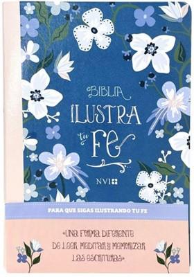 Biblia Ilustra tu Fe - Azul (Tapa Suave)