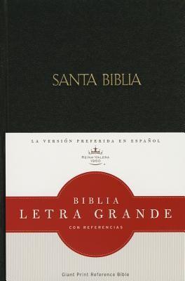 Biblia Letra Grande Tapa Dura Negra (Tapa Dura) [Biblia]