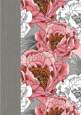 Biblia Mujer Conforme al Corazón de Dios Flores (Tapa Suave)
