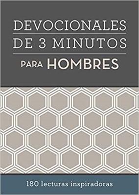 Devocionales de 3 Minutos Para Hombres (Tapa Rústica)