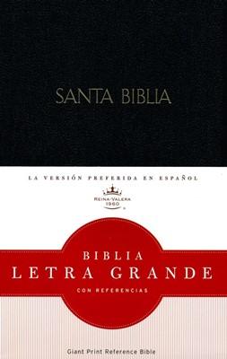 Biblia Letra Grande Vinil Negra (Imitación Piel Negra) [Biblia]