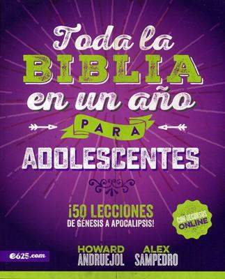 Toda la Biblia en un Año Para Adolescentes (Tapa Rústica)