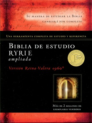 Biblia Estudo Ryrie Ampliada Tapa Dura (Tapa Dura) [Biblia]