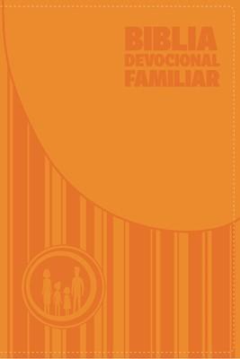 Biblia Devocional Familiar Símil Piel (Tapa Suave)