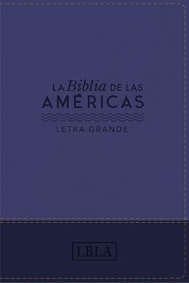 Biblia de las Américas Letra Grande (Tapa Suave)