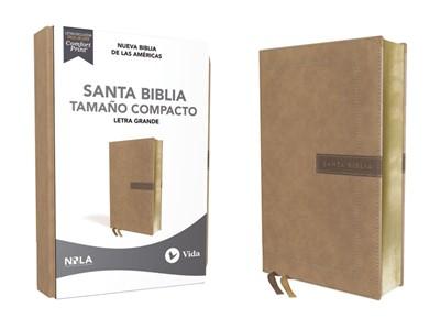 Biblia Nueva Biblia de las Américas Compacta Beige (Tapa Suave)