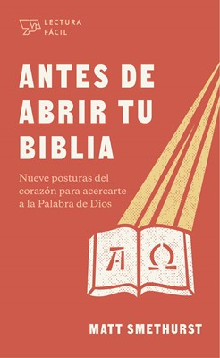 Antes de Abrir la Biblia (Tapa Rústica)