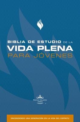 Biblia de Estudio Vida Plena Para Jóvenes (Tapa Dura)
