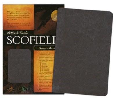 Biblia de Estudio Scofield Piel Marron (Tapa Suave)