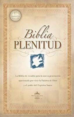 Biblia de Estudio Plenitud Tapa Dura con Índice (Tapa Dura)