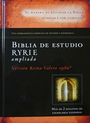 Biblia de Estudio Ryrie Ampliada con Índice (Tapa Dura)