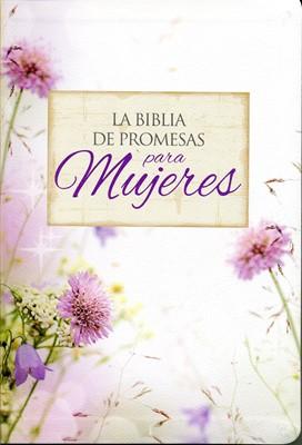 Biblia de Promesas Letra Grande Floral con Índice (Tapa Suave)