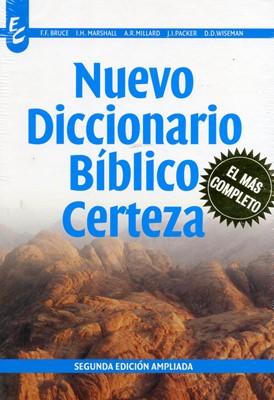 Nuevo Diccionario Bíblico Certeza (Tapa Dura) [Libro]