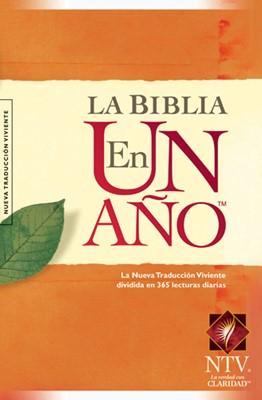 Biblia NTV en un Año (Tapa Dura) [Biblia]