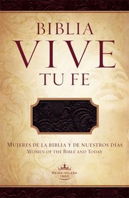 Biblia Vive Tu Fe (Piel elaborada color Morado) [Biblia]