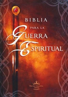 Biblia Para la Guerra Espiritual (Tapa Dura) [Biblia]