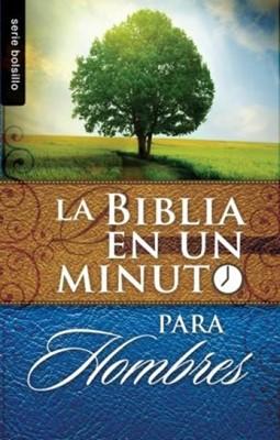Biblia En Un Minuto Para Hombres (Tapa Rústica) [Libro Bolsillo]