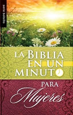 Biblia En Un Minuto Para Mujeres (Tapa Rústica) [Libro Bolsillo]