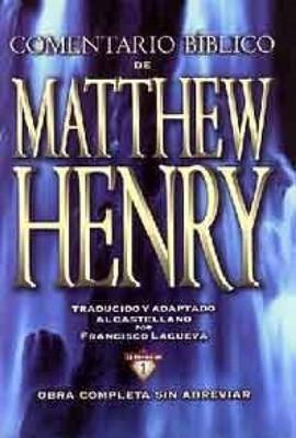 Comentario Bíblico Mathew Henry (Tapa Dura) [Libro]