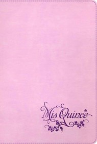 Biblia Mis Quince Rosa con Violeta