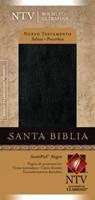 Nuevo Testamento con Salmos y Proverbios Piel Negro