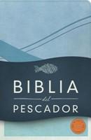Biblia Del Pescador Símil Piel Azul Cobalto