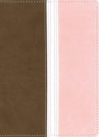 Biblia NVI Compacta Marrón/Rosa