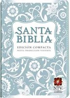 Biblia NTV Compacta Azul Claro