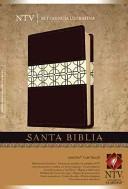 Biblia NTV Ultrafina Café Marfil