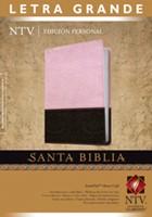 Biblia NTV Letra Grande Rosa/Café