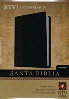 Biblia NTV Duo Tono Negro/Gris
