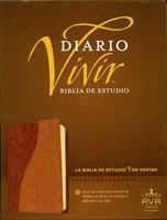 Biblia Estudio Diario Vivir Café/Café Claro